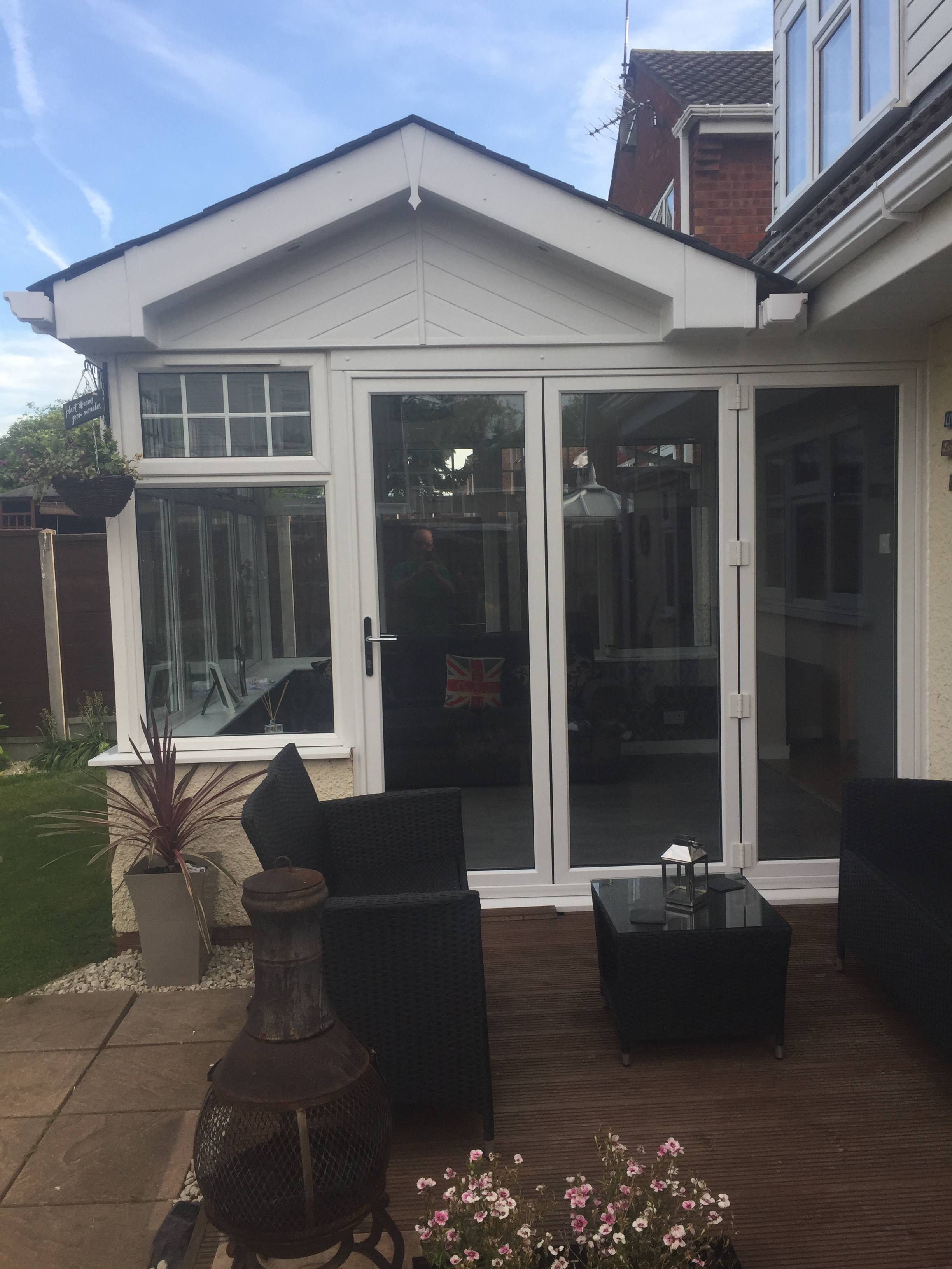 White Gable ended conservatory