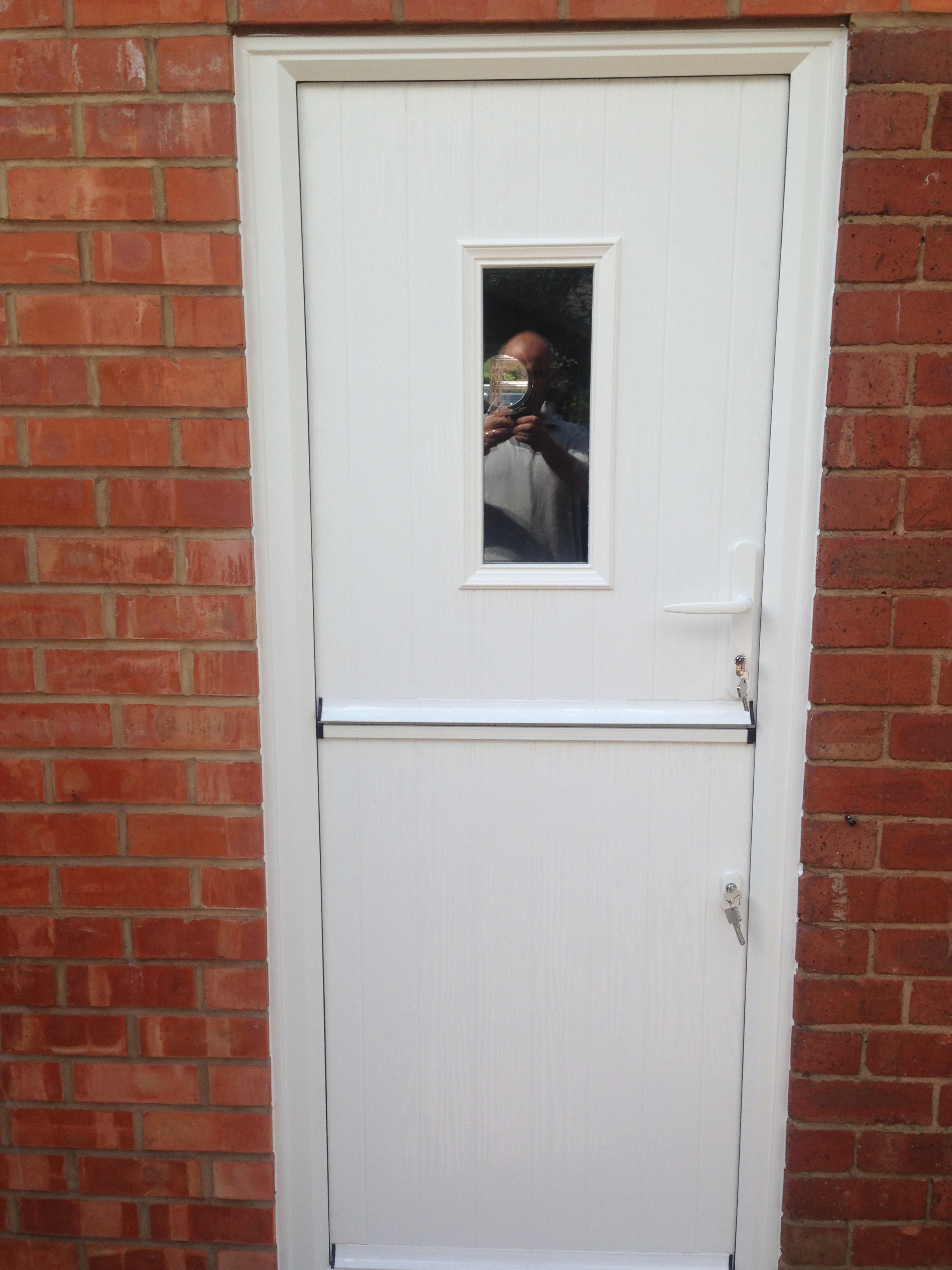stable door white composite