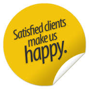 Satisfied clients make us happy