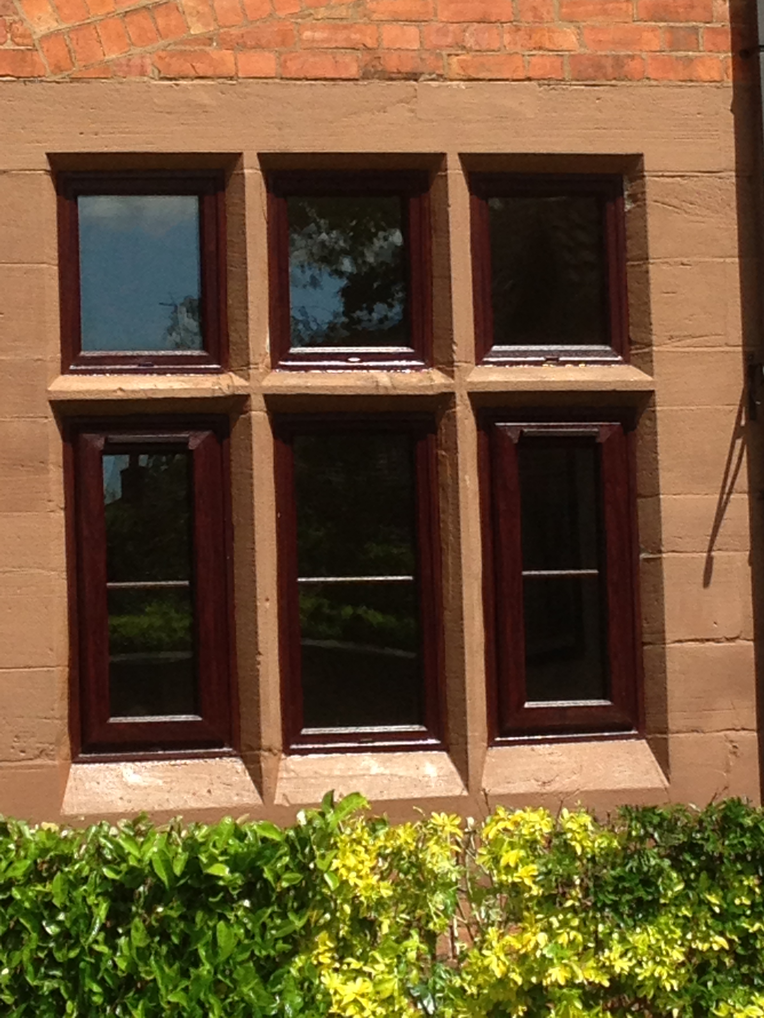 Rosewood Upvc Barn Conversion Project Windseal Double